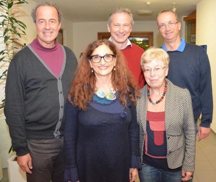 Der aktuelle Vorstand des OV Gundelfingen/Wildtal