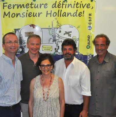 Vorstand mit MdL Reinhold Pix