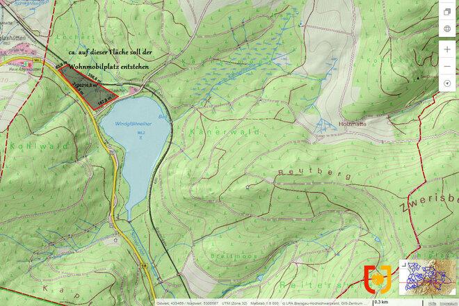 openPetition: Kein Campingplatz am Windgfällweiher – Kleinod gegen kommerzielle Interessen